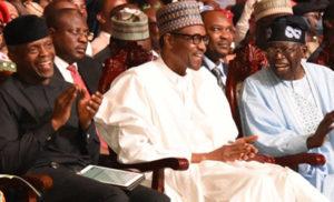 President Buhari and Bola Ahmed Tinubu