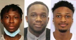 A composite of Bakare, Sangode and Adeyinka